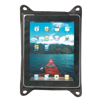 Sea to Summit TPU GUIDE WATERPROOF TABLET CASES, schwarz, TPU-Zip Lock, Klett-Verschluss, Befestigungsösen