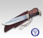 "✔ DOWN UNDER ""THE OUTBACK II"" Jagdmesser Outdoormesser 440C ""dual-gehärtet"" 446128"